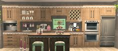 maxis ofb Storybook add on - slaved kitchen cabinets UPDATED 01.08.2015