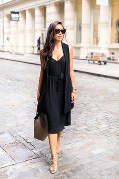Langes schwarzes kleid welche schuhe