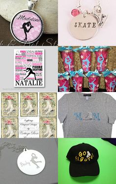 Gift Ideas for Ice Skaters by Alexandra Richards on Etsy--Pinned with TreasuryPin.com