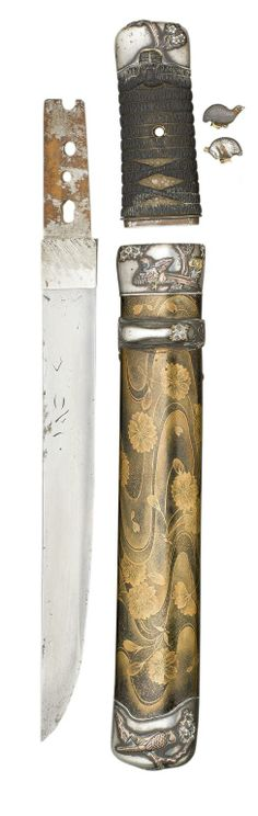 18th Century Japanese Kozuka | Click to view enlarged image