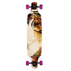Never Summer Descent TM Complete Longboard Skateboard  $205.95 at Action Board Sports