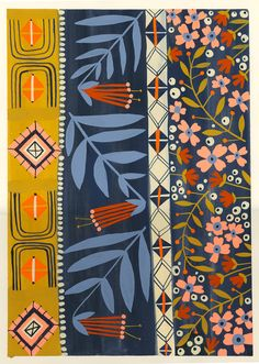 Anisa Makhoul - reminds me of my mums designs.
