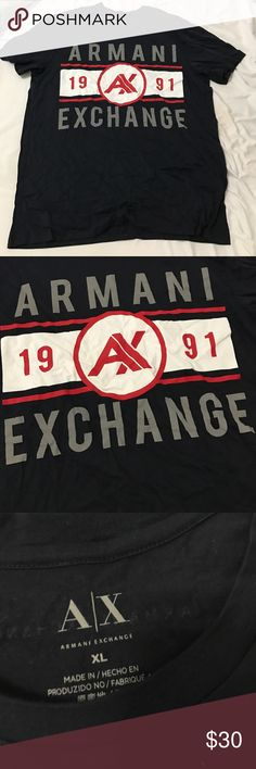 Men's Armani exchange T-shirt Brand-new with tags A/X Armani Exchange Shirts Tees - Short Sleeve