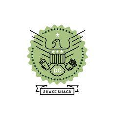 Shake Shack Logo shake shack websitebig spaceship , via behance | icons