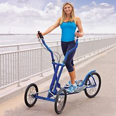 The Elliptical Bicycle - Hammacher Schlemmer