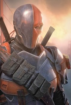 Deathstroke, this guy is in arrow! I hope they make the costume look like this!