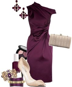 """""""plum gorgeous"""" by meganpearl on Polyvore"""