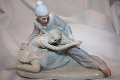 Ballet Dancers in Porcelain by VintagebyViola on Etsy, $39.00