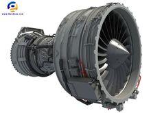 Turbofan Aircraft Engine Photo:  This Photo was uploaded by Gandoza.