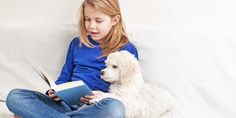 Elementary School Students Read to Dogs | HerePup!