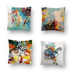 Cushions and Pillows by Khalid Shahin