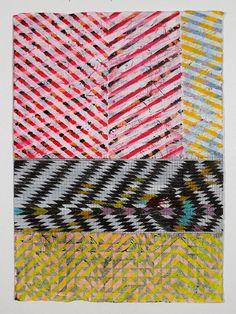 blocking prints together in one print  Jennifer Sanchez