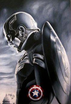 Captain America : The Winter Soldier Art