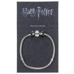 The #carat shop - #harry potter - #silver charm bracelet - 21cm,  View more on the LINK: http://www.zeppy.io/product/gb/2/311390225520/
