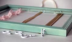 girl's accossory holder diy | DIY Girls Accessories Holder | Love and RosenLove and Rosen