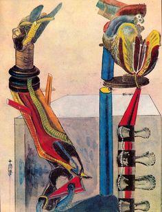 Max Ernst / Le limaçon de chambre 1921