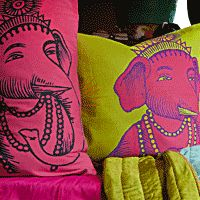 Koko Company — bedding, pillows and plastic floormats inspired by India
