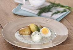 Rychlá koprová omáčka s vařeným vejcem