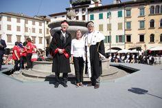 Con Fabio Barbone e A.F. De Toni