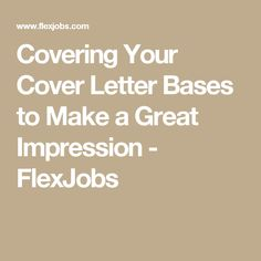 In This New Add World Your Cover Letter Must Be Able To Get