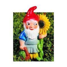Zwerg mit Sonnenblume, 31cm groß: Amazon.de: Garten, Gartenzwerg, Zwerg, Gnom, Gartenfigur, Gartendeko, Märchen, Sieben Zwerge, dwarf, garden gnome, Dekoration,