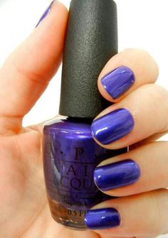 OPI Royal purple in DSP - Delta Spa Package with gold bath stuff and dsp wash cloth, purple or glitter toe separators