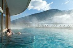 Bad Kleinkirchheim, Austria - can't really think of anything better than skiing all day and then relaxing in the thermal baths