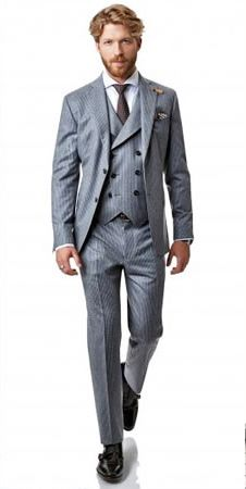 Choosing a suit for your wedding can actually be a daunting task. The decision of what you will wear dictates what your groomsmen will wear, what all the men in
