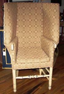 The Quartermaster General  Primitive make-do chair