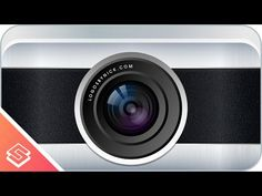 Inkscape Tutorial: Vector Camera Lens - YouTube