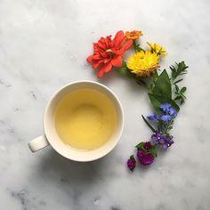 Pretty tea time by Elizabeth Pyle via bottlebranch.com