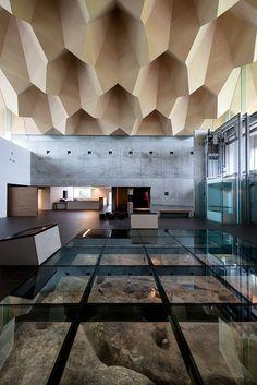 Museo Miyahata Jomon - Este está instalado en medio de un paisaje natural. | Galería de fotos 5 de 13 | AD MX
