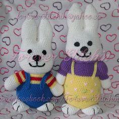 Max & Ruby Crochet Pattern Set by 1m3bForeverStitchin on Etsy, $5.00