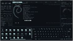 Crazy cool themable terminal for Linux, Mac, Windows Line Tools, Tron Legacy, Pi Projects, Keyboard Shortcuts, Computer Setup, Filing System, Open Source, Linux, Tatuajes