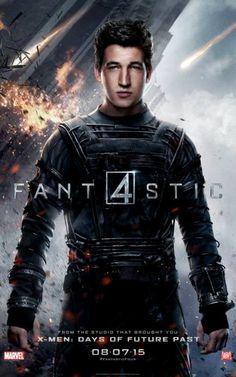 """Nuevos carteles de personajes de """"Los 4 Fantásticos"""". Mr. Fantástico"""