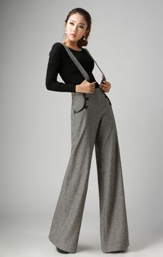 2015 nuovo di lana spessa donne in america apparel pantaloni larghi del piedino femminile pantaloni casual cinghia di alta wais tvintage ol pantaloni lunghi 05 in  Unità: cm 1 cm = 0.39 pollice, 1 pollice = 2.54 cm   da Pantaloni & Capris su AliExpress.com   Gruppo Alibaba