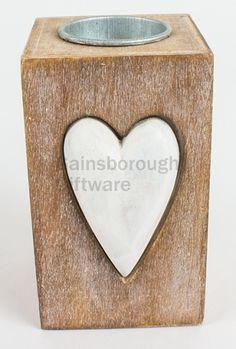 Wooden Heart T-Light Holder - Large from KitchenRules T Lights, Wooden Hearts, Tissue Holders, Woodland, Christmas, Xmas, Navidad, Noel, Natal