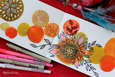 sketchbook explorations with Lisa Congdon