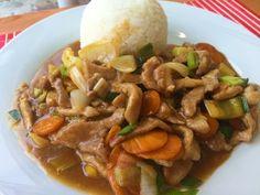 veprove s ustricnou omackou Beef, Food, Meal, Essen, Hoods, Ox, Meals, Eten, Steak