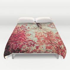 Autumn Inkblot Duvet Cover by Olivia Joy StClaire - $99.00
