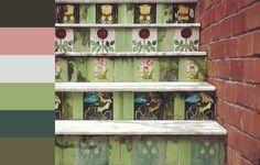 Colour palette - Art Deco steps
