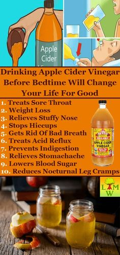 Apple Cider Vinegar Benefits The apple cider vinegar has a vast number of usages, from pies, pickles to salads. However, it could also be used for drinking.