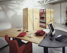 Regał przesuwny Compactus Electro - MCB - regały przesuwne, regały magazynowe i meble biurowe