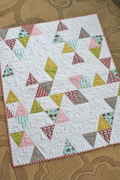 The Scrap Basket :: Equilateral Triangle Quilts