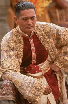 Chow Yun Fat in Anna and the King. Costume design by Jenny Beavan. Theatre Costumes, Movie Costumes, Divas, Actrices Hollywood, Film Awards, Chow Chow, My King, Asian Men, Portraits