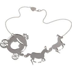 Tatty Devine coach and horses necklace