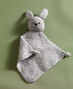 Crochet this Fuzzy Bunny Baby Blanket in Fishermen's Wool for someone to hold as they are getting use to their new world.