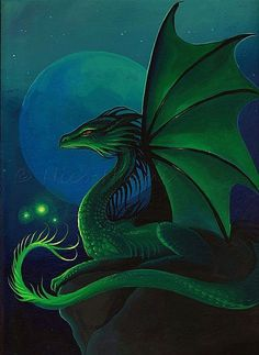 Night Guardian - by Nico Niemi from dragons http://www.ebay.com/usr/americanflag911