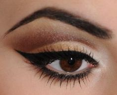Eye make up for brown eyes