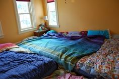 family bed, just like ours :)
